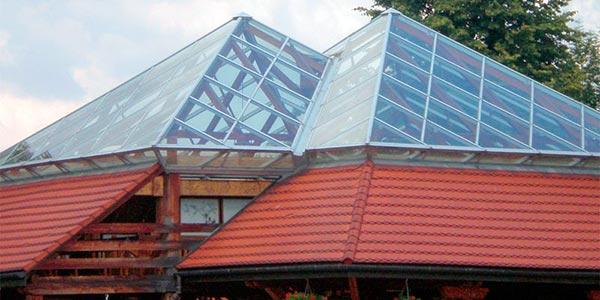 Необычная крыша из полимера