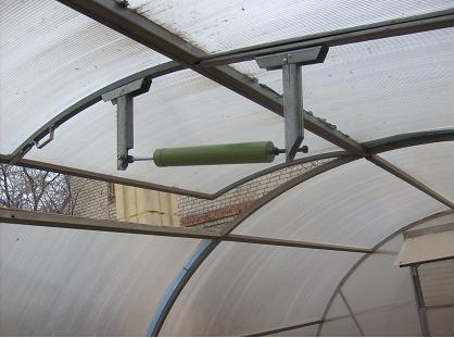 Система для автоматического проветривания в теплице