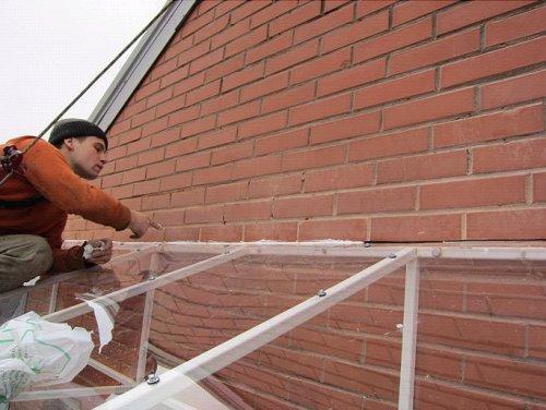 Создаем надежный каркас для крыши