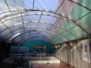 Крыша из полимера