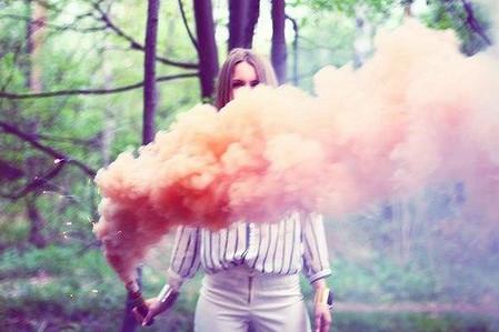 Очистка теплицы при помощи дыма