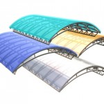 Цвет поликарбонатных листов для навеса
