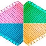 Цвет поликарбоната для теплицы