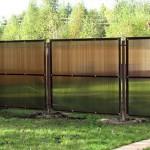 Качественный забор из поликарбоната