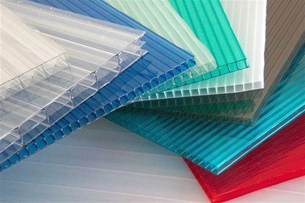Разноцветный сотовый полимер