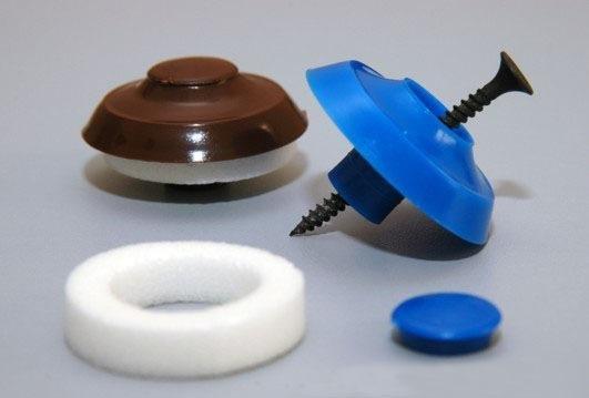 Термошайбы для крепления полимера