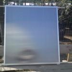 Солнечный коллектор из поликарбоната