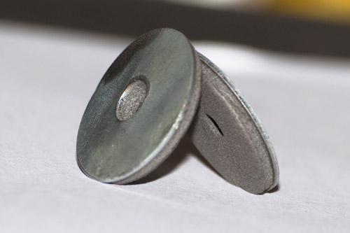 Металлические термошайбы для поликарбоната