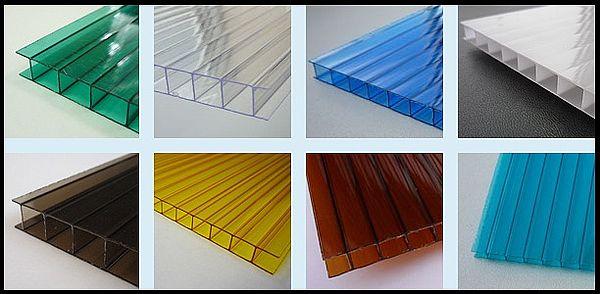 Полимерные листы разной толщины