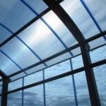 Строим крышу с использованием поликарбоната