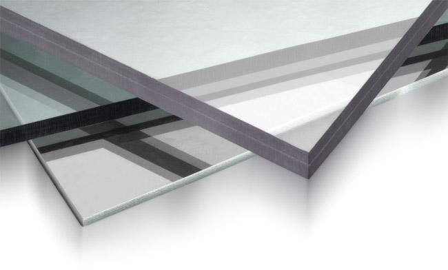 Прозрачные листы монолитного полимера