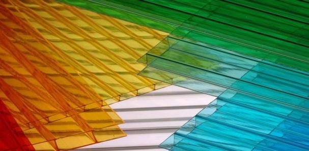 Однокамерный сотовый поликарбонат фото