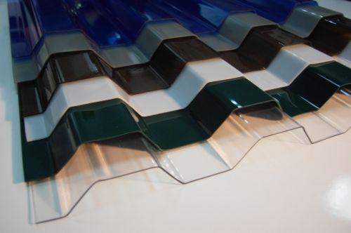 Поликарбонат для крыш профилированный