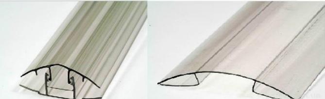 Профили для крепления полимера к каркасу