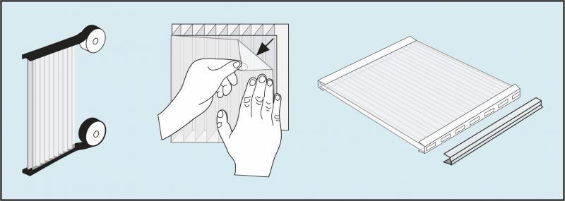 Использование специальной ленты