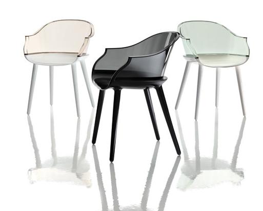 Поликарбонатные стулья