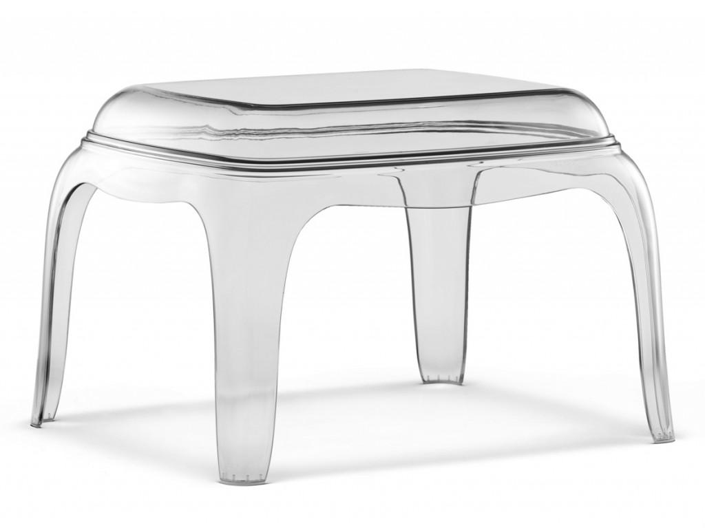 Прозрачный поликарбонатный стол