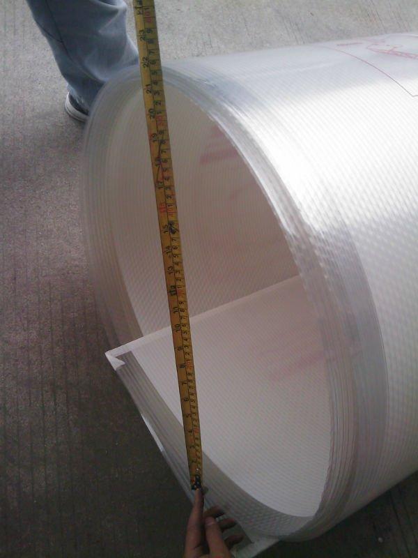 Правильная перевозка поликарбонатных листов в рулонах