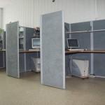 Поликарбонатные стенки для офиса