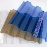 Профилированный лист полимера