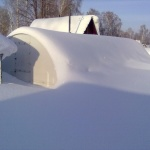 Готовим полимерную теплицу к зиме