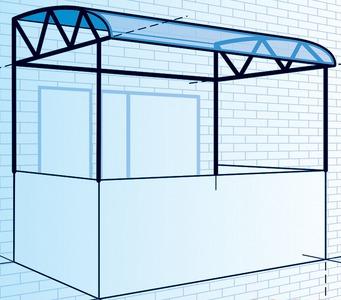 Делаем основу для балкона