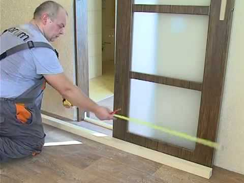 Измерьте дверной проем