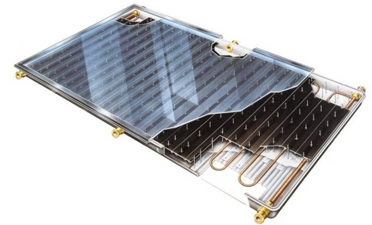 Солнечный коллектор для теплицы