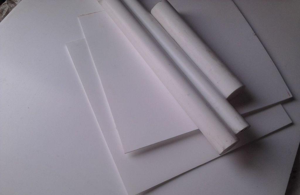 Листы фторопласта разных размеров