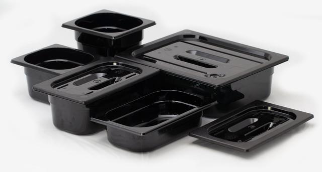 Черные полимерные гастроемкости