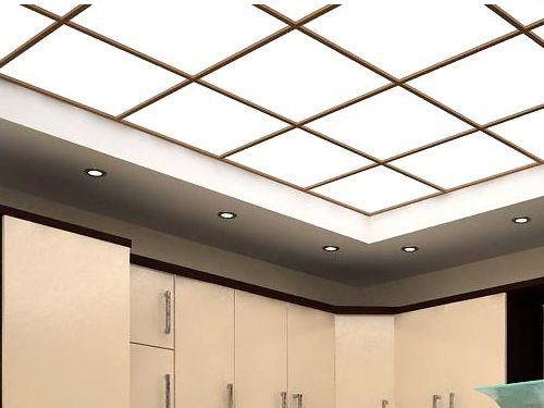 Хороший полимерный потолок