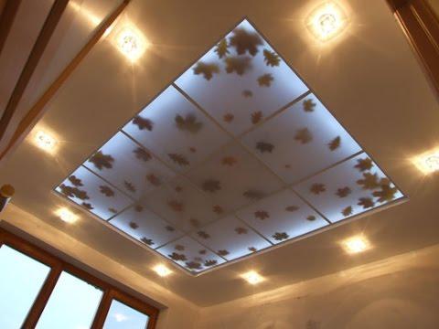 Потолок из полимерных листов