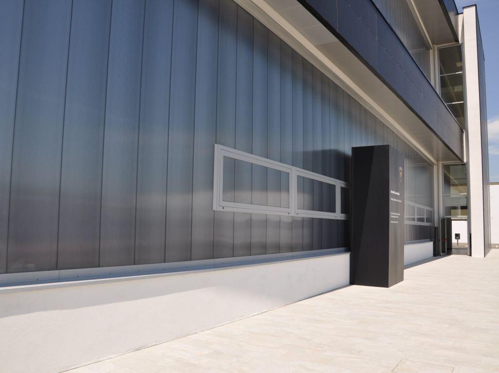 Полимерный фасад