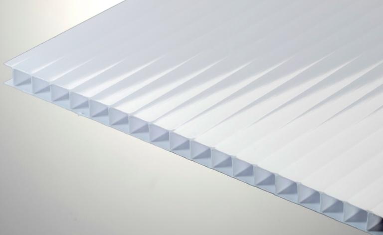 Лист белого поликарбоната