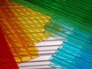 Листы цветного поликарбоната