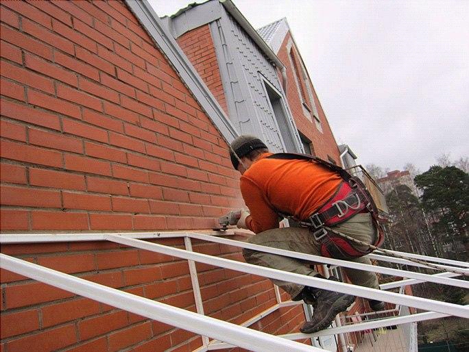 Создание каркаса для крыши