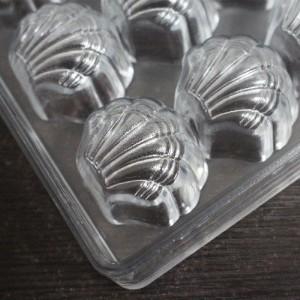 Форма ракушка для конфет