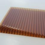Лист коричневого полимера