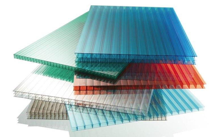 Пластины сотового поликарбоната