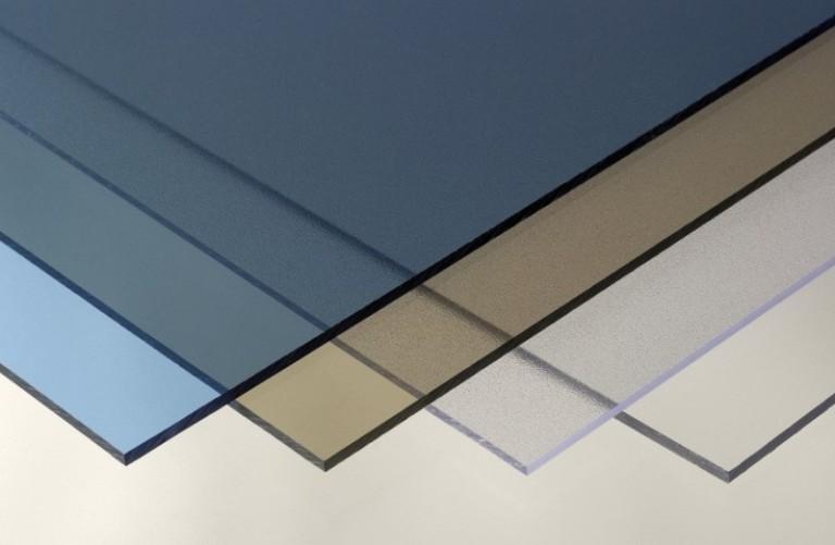 Пластины цветного поликарбоната