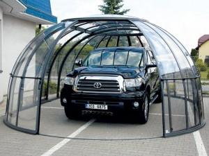 Полимерный гараж для авто