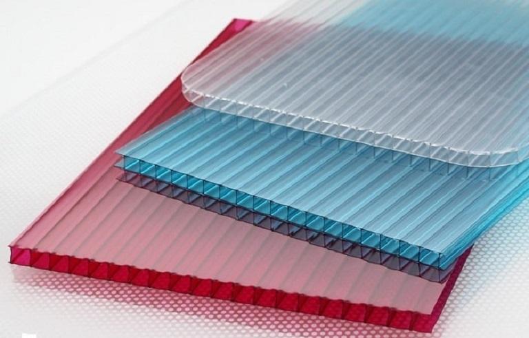 Листы цветного полимера